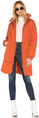 MinkPink Midi Puffa Jacket