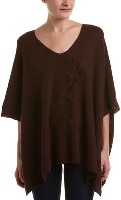 Vince Ribbed Cashmere Poncho