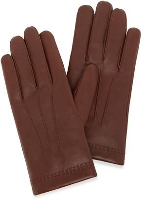 Mulberry Men's Soft Nappa Gloves Black Nappa Leather