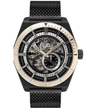 HUGO BOSS 1513655 Skelton Watch Black