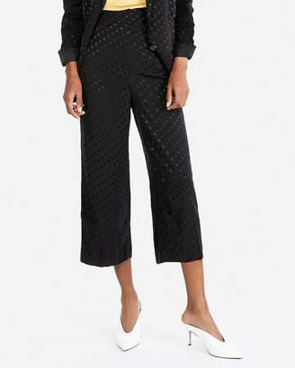 Express High Waisted Polka Dot Culottes