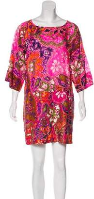 See by Chloe Abstract Print Mini Dress