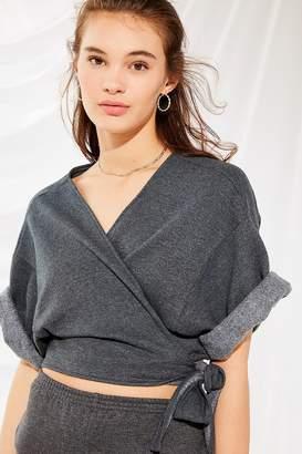 Urban Renewal Vintage Urban Remade Remade Sweatshirt Wrap Top
