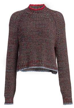 Rag & Bone Ilana Multi-Knit Crewneck Sweater