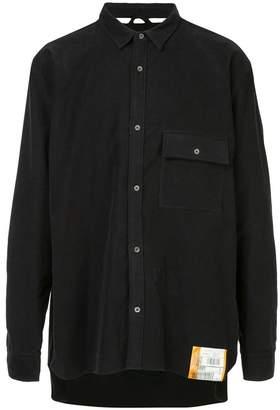 Miharayasuhiro sweat combine shirt