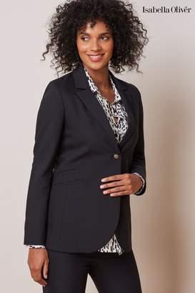 Isabella Oliver Womens Black Josefina Maternity Blazer - Black
