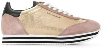 Rebecca Minkoff striped platform panel sneakers