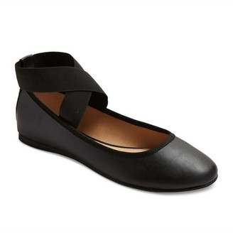 Mossimo Supply Co. Women's Jane Elastic Ballet Flats with Ankle Wrap - Mossimo Supply Co. $19.99 thestylecure.com