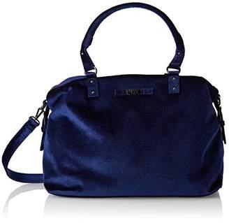 Le Temps Des Cerises Women's LTC5E4X Bowling Bag Blue