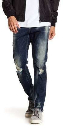"""Request Stretch Distressed Jeans - 32\"""" Inseam"""
