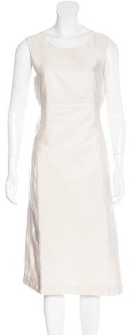 pradaPrada Silk Sheath Dress