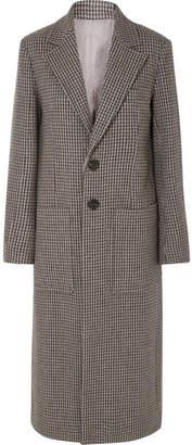 Joseph Marko Houndstooth Woven Coat - Gray