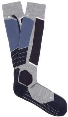Falke Ess - Sk2 Performance Virgin Wool Ski Socks - Mens - Grey