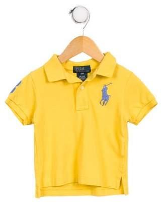 Polo Ralph Lauren Boys' Logo Polo Top