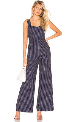 Line & Dot Torri Square Neck Jumpsuit