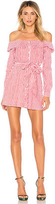 L'Academie Jann Button Up Dress
