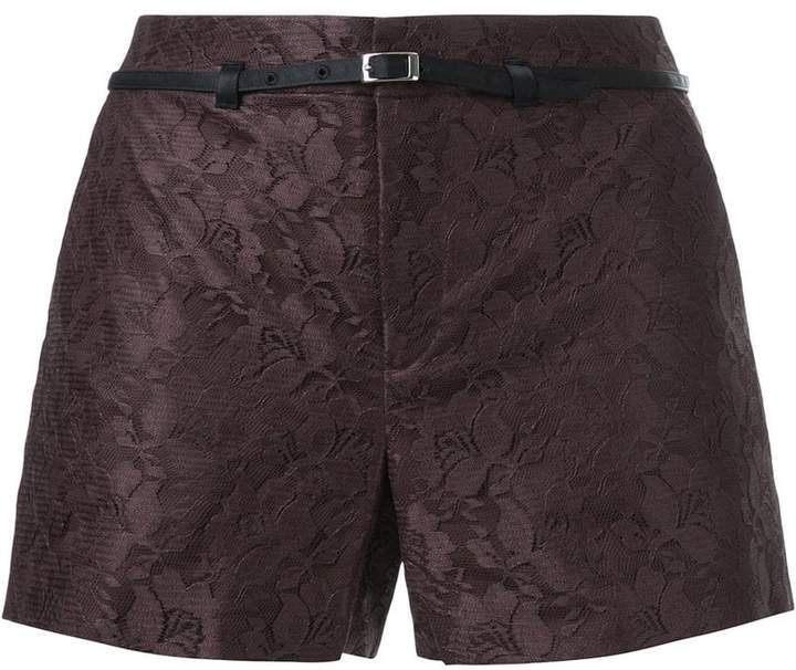 Loveless Shorts mit Gürtel