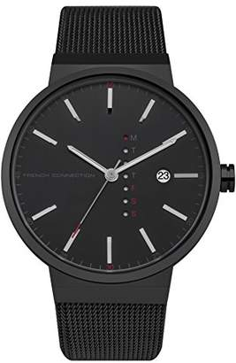 French Connection Men's Quartz Metal and Stainless Steel Casual Watch