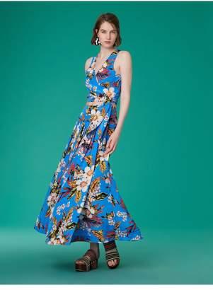 Diane von Furstenberg Gathered Maxi Skirt