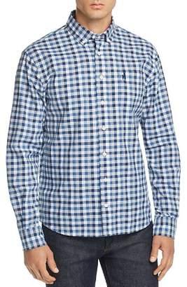 Johnnie-O Arthur Gingham Regular Fit Button-Down Shirt