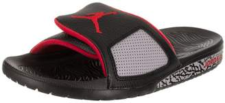 Jordan Nike Men's Hydro III Retro Black/University Red Sandal 11 Men US
