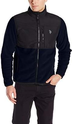 U.S. Polo Assn. Men's Big and Tall Polar-Fleece Jacket