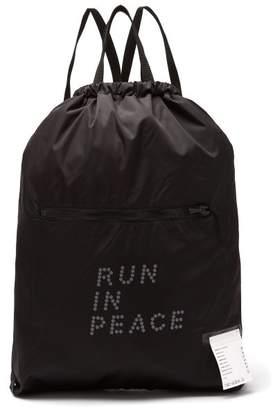 Satisfy - Run In Peace Waterproof Backpack - Mens - Black