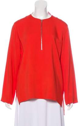 Stella McCartney Zip-Up High-Low Tunic