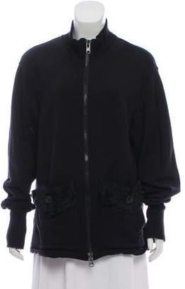 Y-3 Wool Zip-Up Jacket