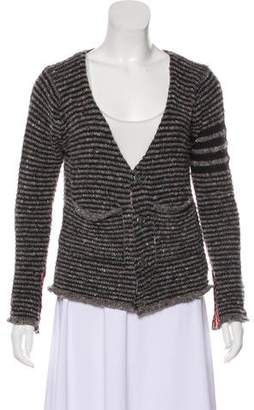 Thom Browne Wool Button-Up Cardigan
