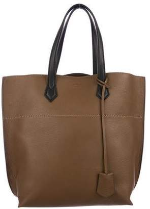 Fendi Large Leather Shopping Tote w/ Tags