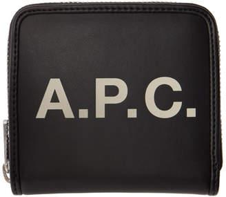 A.P.C. Black Morgan Compact Wallet