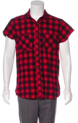 Fear Of God Check Pattern Button-Up Shirt