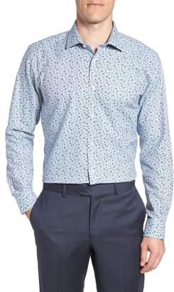 Ted Baker Chardo Trim Fit Floral Dress Shirt