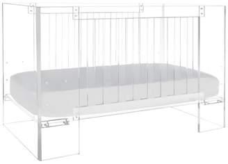 Nurseryworks Nursery Works Vetro Crib in Clear Acrylic