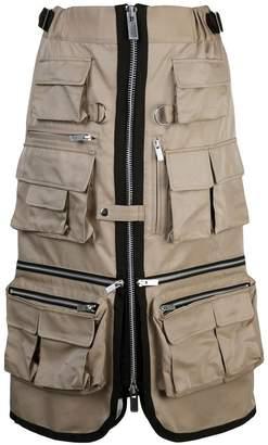 Sacai utility skirt