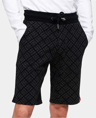 Superdry Men Logo-Print Drawstring Shorts