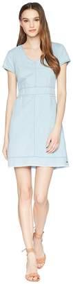 U.S. Polo Assn. Frayed Denim Dress Women's Dress