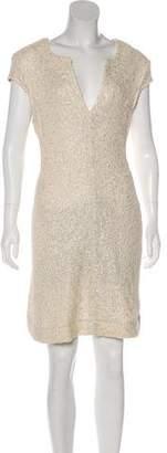 L'Agence Bouclé Knee-Length Dress