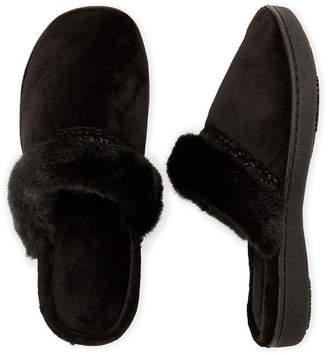 Isotoner Lillie Velour Clog Slippers
