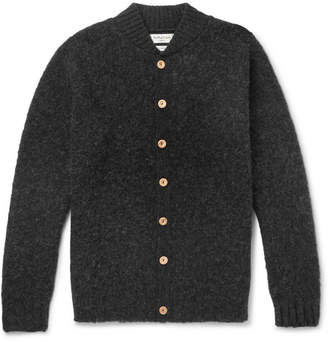 Brushed-Wool Cardigan