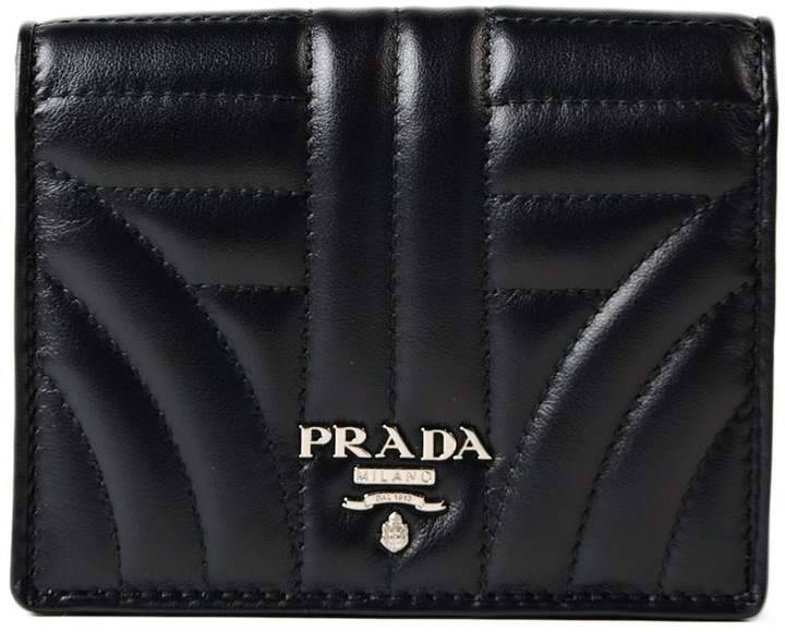 Prada Soft Calf Impunture Small Wallet