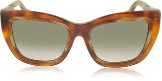 Balenciaga BA0027 Acetate Square Women's Sunglasses