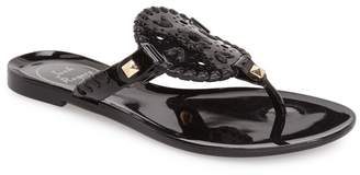 Jack Rogers 'Miss Georgica' Jelly Flip Flop
