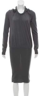 Emporio Armani Knit Midi Dress w/ Tags