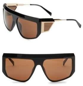 Balmain 62MM Aviator Shield Sunglasses