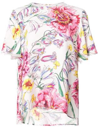 Prabal Gurung floral print blouse