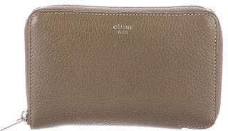 CelineCéline Small Zip-Around Wallet