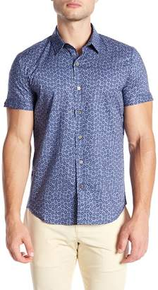 Parke & Ronen Print Nonstretch Slim Fit Shirt
