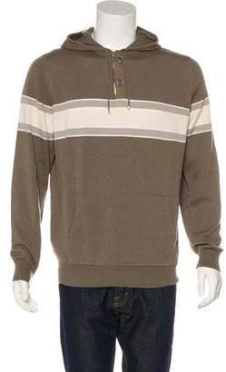 Hermes Cashmere Hooded Sweater w/ Tags